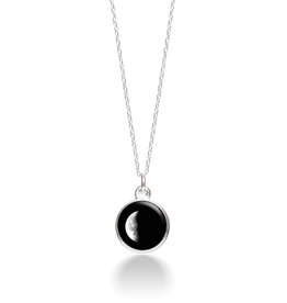 MOONGLOW JEWELRY 3D - Waning Crescent Necklace