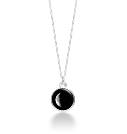 MOONGLOW JEWELRY 2D - Waning Crescent Necklace