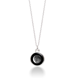 MOONGLOW JEWELRY CD - Waning Crescent Necklace