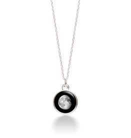 MOONGLOW JEWELRY 7D - Waning Gibbous Necklace