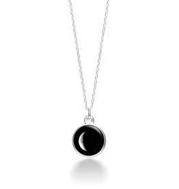 MOONGLOW JEWELRY 1D - Waning Crescent Necklace