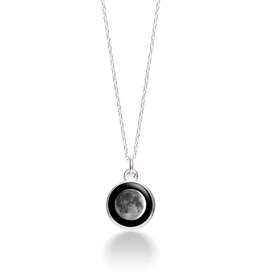 MOONGLOW JEWELRY CA - Waxing Crescent Necklace