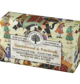 AUSTRALIAN NATURAL SOAP 7oz. Bar Soap Sandalwood & Patchouli
