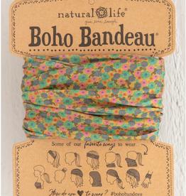 NATURAL LIFE CREATIONS Boho Bandeau  Mustard Floral