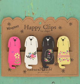 NATURAL LIFE CREATIONS Magnet Happy Clips Dogs