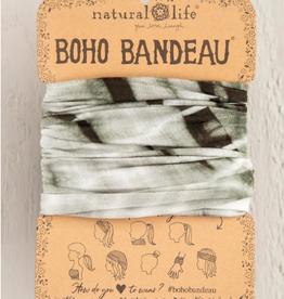 NATURAL LIFE CREATIONS Boho Bandeau Olive Tonal TieDye