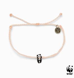 PURA VIDA Panda Gold Bracelet Blush