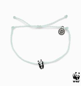PURA VIDA Panda Silver Bracelet Winter Fresh