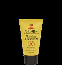 THE NAKED BEE 1.5 oz. Travel SPF 30 Vitamin C Moisturizing Sunscreen / Orange Blossom & Honey