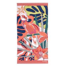 VERA BRADLEY Beach Towel : Rain Forest Canopy Coral