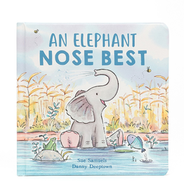 JELLYCAT INC. An Elephant Nose Best Book