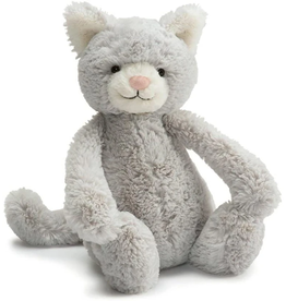 JELLYCAT INC. Bashful Grey Kitty Medium