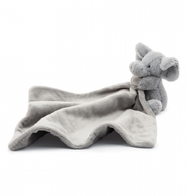 JELLYCAT INC. Bashful Grey Elephant Soother