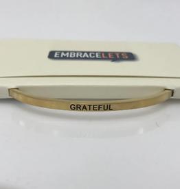 """CENTER COURT """"Grateful"""" Gold"""