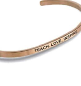 "CENTER COURT ""Teach, Love, Inspire"" Rose Gold"