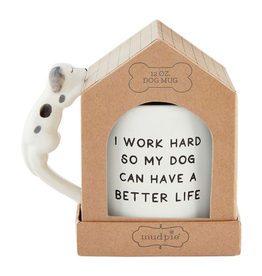 MUDPIE Boxed Mug Pet