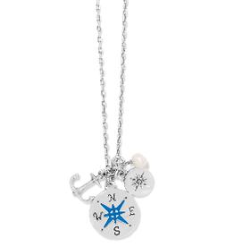 BRIGHTON Anchor Bay Petite Trio Necklace