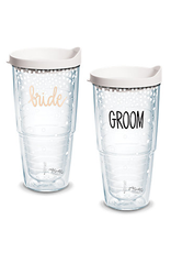 TERVIS TUMBLER 24 oz Tumbler Set CC Bride & Groom
