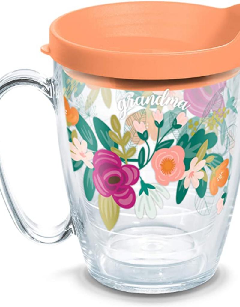 16 Oz Mug Mint Swag Grandma Floral Heart And Home