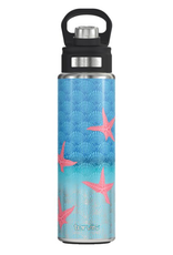 TERVIS TUMBLER 24 oz Water Bottle Stainless Beach Impressions