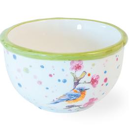 Bowl Bird & Cherry Blossoms