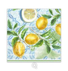 Cocktail Napkins Citrus Limon