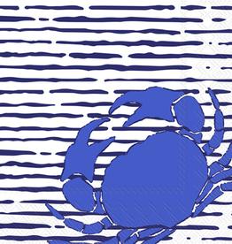 Cocktail Napkins Waterline Crab