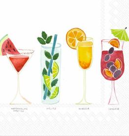 Cocktail Napkins Summer Cocktails