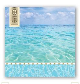 MICHEL DESIGN WORKS Beach Cocktail Napkin