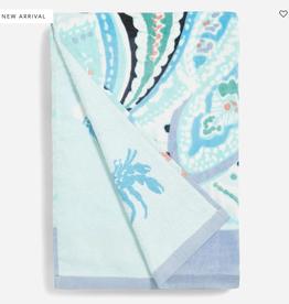 VERA BRADLEY Double Sided Beach Towel : Paisley Wave