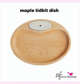 NORA FLEMING Maple Tidbit Dish