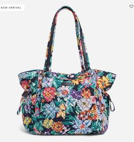 VERA BRADLEY Glenna Satchel : Happy Blooms