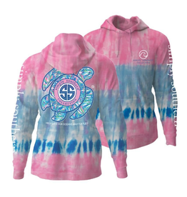 SIMPLY SOUTHERN Hoodie Turtle Candy Tie-dye