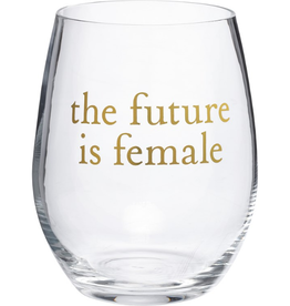 Boxed Stemless Wine Future is Female...