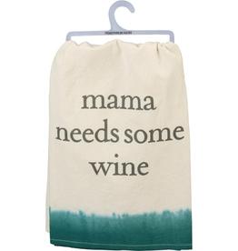 Dish Towel Mama Needs Wine