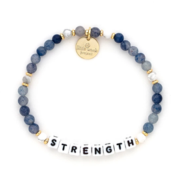 LITTLE WORDS PROJECT Bracelet Beaded Strength