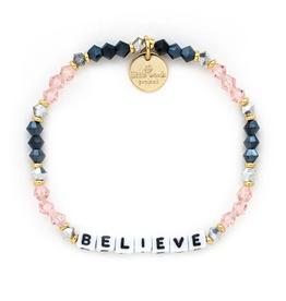 LITTLE WORDS PROJECT Bracelet Beaded Believe