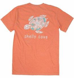 SHELLY COVE Melon Starfish Short Sleeve Tee