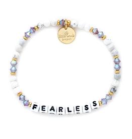 LITTLE WORDS PROJECT Bracelet Beaded Fearless