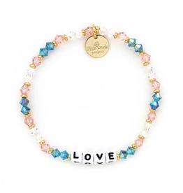 LITTLE WORDS PROJECT Bracelet Beaded Love