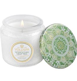 VOLUSPA 4.5 oz Moraccan Mint Petite Jar Candle