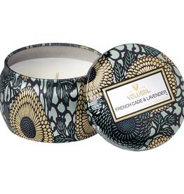 VOLUSPA French Cade Lavender Mini Tin Candle