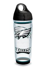 TERVIS TUMBLER 24 oz Water Bottle NFL Eagles Tradition