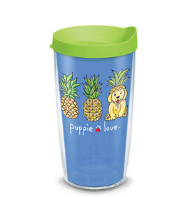TERVIS TUMBLER 16oz Tumbler Puppy Love Pineapple Disguise