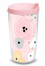 TERVIS TUMBLER 16 oz Tumbler Pink Floral Pattern