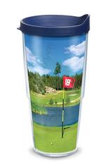 TERVIS TUMBLER 16 oz Tumbler Golf Course Scene