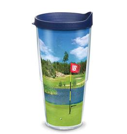 TERVIS TUMBLER 24 oz Tumbler Golf Course Scene