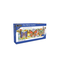 LANG COMPANIES Butterflies 750 Panoramic Puzzle