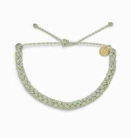 PURA VIDA Braided Bracelet Mint