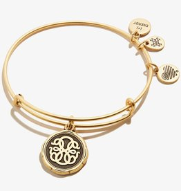 ALEX AND ANI Charm Bangle Path of Life V in Gold